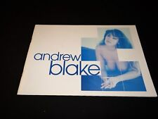 ANDREW BLAKE rare scenario dossier luxe presse cinema  erotique sexy