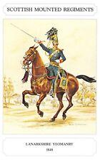 Postcard The Scottish Mounted Regiment Series, Lanarkshire Yeomanry Geoff White