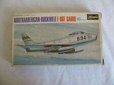 Hasegawa 1/72 North American Rockwell F-86F Sabre Fighter Jet #JS-015 NIB