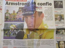 VELO : LANCE ARMSTRONG GAGNE LE TOUR DE FRANCE 2000 - 24/07/2000