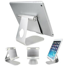 For iPhone iPad Tablet PC 270° Rotatable Aluminum Desktop Holder Table Stand GPS