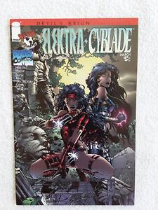 Elektra / Cyblade #1 (Mar 1997, Image) NM 9.4