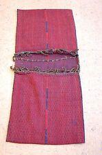 c1920s Antique Persian Turkoman Souzani Cargo Bag Rug 1.8x3.10 Functional