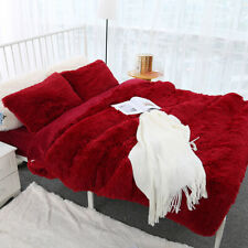 Faux Fur Throw Blanket Fleece Large Soft Warm Sofa Single Double King Bed Cover