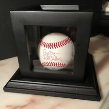 Texas A&M Aggies Rob Childress Hand Signed Baseball in Display Case