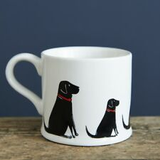 Sweet William BLACK LABRADOR Dog Mug | Great Gift for Labrador Lovers | FREE P&P