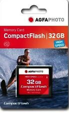 32GB High Speed 233x Compact Flash Card CF Memory for HD Video AGFA PHOTO
