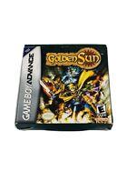 Gameboy Advance Golden Sun Box Only