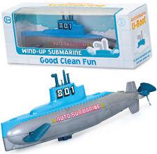 Clockwork sottomarino bagnomaria Toy Boy Girl Regalo Di Compleanno Party Borsa Filler Beach