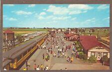 Vintage Postcard Unuse 00006000 D The Strasburg Railroad, Strasburg Pennsylvania