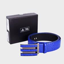 ADIDAS Golf Men's 3 Wire Adipure Leather Belt Buckles Q24796 Night Flash Blue 🔥