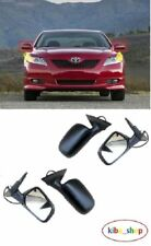 TOYOTA CAMRY 2006-2011 NEW WING MIRRORS ELECTRIC HEATED PRIMED LEFT + RIGHT LHD
