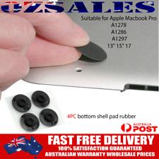 "4 Pcs For MacBook Pro A1278 A1286 A1297 13"" 15"" 17 Bottom Case Rubber Feet Foot"