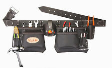 Top of the line Oil Tanned Leather Tool Pouch Bag Belt / Tool Rig