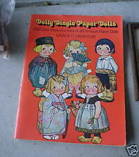1978 Dolly Dingle Paper Dolls Reproduction Book LOOK