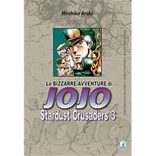 LE BIZZARRE AVVENTURE DI JOJO - STARDUST CRUSADERS 3 DI 10 - STAR COMICS NUOVO