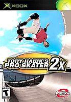 Tony Hawk's Pro Skater 2X (Microsoft Xbox, 2001) - CIB