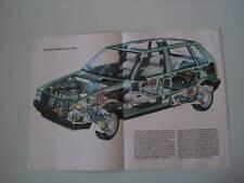 - POSTER ANNO 1983 - FIAT UNO 55 S