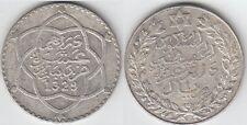 Gertbrolen MAROC 10 Dirhams en argent  ( 1 Rial  )  1329 Paris Exemplaire N° 2