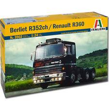 ITALERI BERLIET r352ch RENAULT R360 3902 1:24 kit de modèle de camion