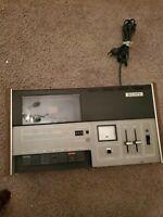 Vintage Sony TC-127  Stereo Cassette-Corder  ESTATE FIND ITEM...#oct37