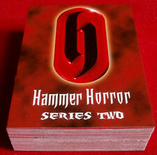 HAMMER HORROR - Series Two - COMPLETE BASE SET (54 cards) - Strictly Ink 2010