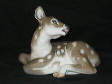 Royal Copenhagen Resting Fawn Figurine #2609