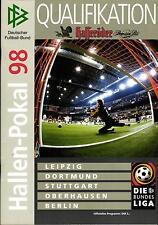 1998 DFB-Hallen-Pokal Qu. in Leipzig, Dortmund, Stuttgart, Oberhausen, Berlin