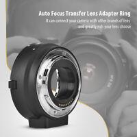 Meike MK-C-AF4 AF Auto Focus Lens Mount Adapter for Canon EOS EF-M to EF/EF-S