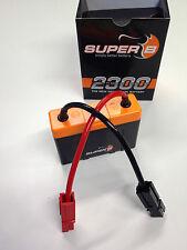 2x Super B 2300 - 13,2V Lithium FepO4 Motorrad Power Akku mit 2x 2300 mAh (4,6Ah