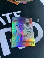2020 PANINI CHRONICLES LEBRON JAMES ESSENTIAL SILVER HOLO LAKERS