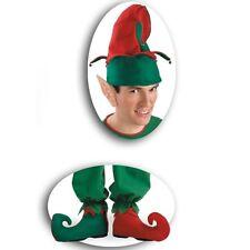 kit lutin de Noël vert et rouge avec oreilles pointues 9702 parade de noel show