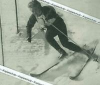 Oberstaufen : Heidi Biebl - Skirennläuferin - um 1960           Z 3-7
