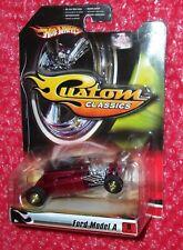 Hot Wheels Ford Model A Custom Classics  L8143-0718