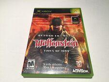 Return to Castle Wolfenstein: Tides of War (Microsoft Xbox) Original Complete Ex