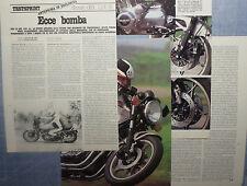 MOTOSPRINT982-PROVA / TEST-1982- SUZUKI GSX 1100 E - 4 fogli
