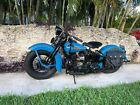 1939 Harley-Davidson U model 74 flathead  No Reserve 1939 Harley Davidson MODEL U 74 flathead EL FL