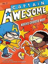 Captain Awesome vs. Nacho Cheese Man-ExLibrary