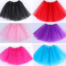Pretty Toddler Children Kid Girls Dance Short Mini Tutu Bubble Pettiskirt Dress