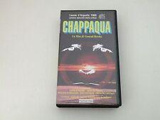 CHAPPAQUA - CONRAD ROOKS - VHS VERSIONE ORIGINALE - SOTTOTITOLI - BUONE COND.V26