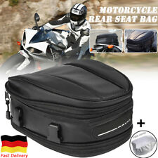 Motorrad Soziussitz Tasche Rücktasche Rücksitz Gepäck Koffer Schwarz Wasserdicht