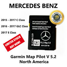 2015-2017 Mercedes-Benz SD Card GPS Navigation GLC E C-Class Garmin Map Pilot
