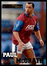Merlin Premier Gold 1996-1997 - Aston Villa Paul McGrath #15
