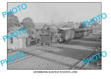 LARGE PHOTO OF OLD GEMBROOK RAILWAY STATION, VIC c1930