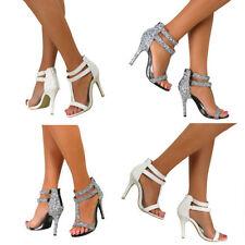 Stiletto Party Strappy Medium Width (B, M) Heels for Women