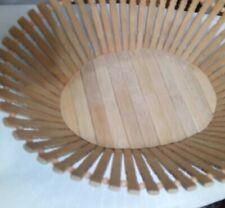 Wooden Bamboo Sticks Flower/Fruit Basket Home Deco Eco Friendly Natural Handmade