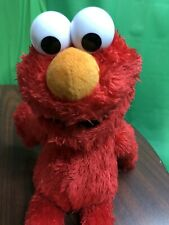 Tickle Me Elmo Sesame Street Hasbro Plush Doll Stuffed Animal Toy 2016 Works