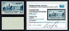Französische Zone Baden Mi. Nr. 46 I mit PF I geprüft Befund postfrisch 1949 (72