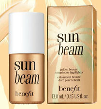 Benefit Cosmetics Sun Beam Golden Bronze Complexion Highlighter - NIB