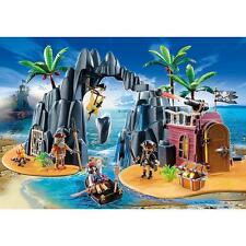 New! PLAYMOBIL 6679 Pirate Treasure Island Playset Ages 4-10